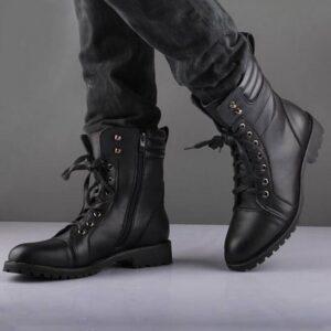 Napoleon Military Boots Black Handmade